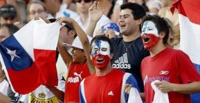 sports fans face painting