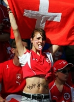 Swiss soccer fan