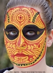 Theyam face painting idea