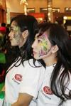 FACE PAINTING jakarta convention center,bobo fair