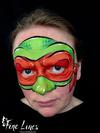 Ninja Turtle Face Painting (Kinderschminken) by Fine Lines Face and Body Art, Leipzig