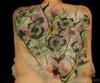 Floral back piece (Click on smaller images to Enlarge)
