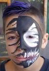 Colin Venom Face Paint design