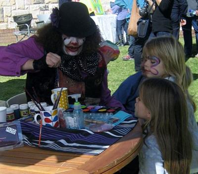 Face Painting (Click the smaller images to Enlarge)
