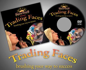 TRADING FACES DVD: 65 Minutes