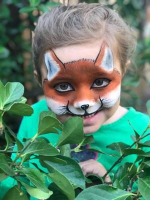 Face Painting Fox