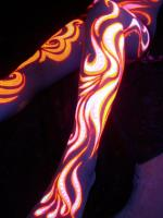UV bodypainting by Jax