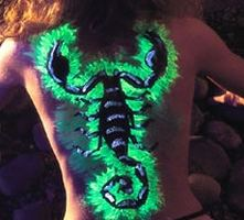 uv body painting by Mark Grunewald