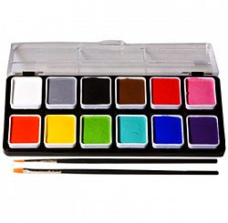 Click to Buy Wolfe Essentials Face Paint Palettes (12/colors)