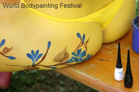 Body Painting covering