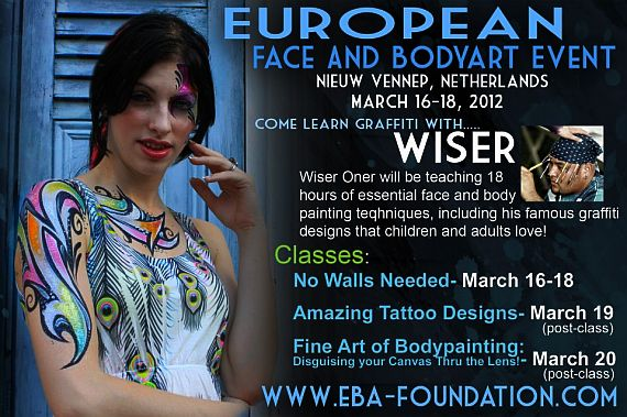 European Face And Body Art Event 2012