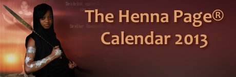 Henna Page Calendar download