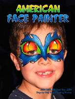 American face painter magazine May