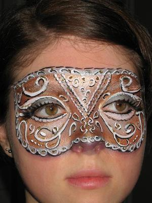 Bespoke-Filigree-Mask (Click on the smaller Images to Enlarge)