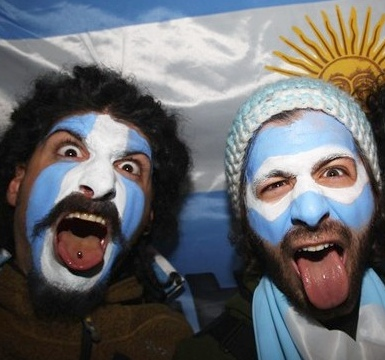 Argentina Supporters RWC 2011