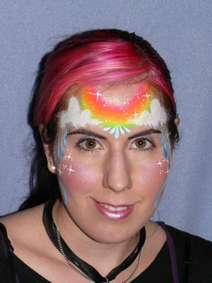Face painting by Jodi Carr