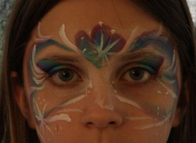 Face Painting (Click smaller images to enlarge)