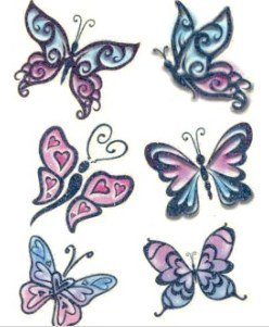 Butterfly Temp Tattoos