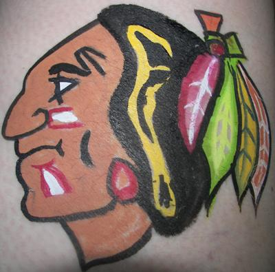 Chicago Blackhawk Logo (Click on smaller images to enlarge)