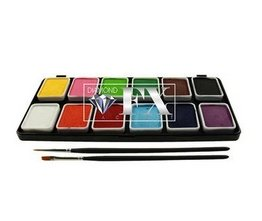 Click to Buy Diamond FX Face Paint Palette (12/colors - 6 gm)