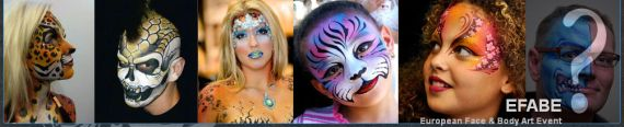 European Face And Body Art Event