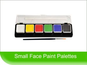 Click to View - Small Face Paint Palettes