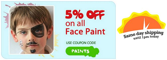face paint in the USA