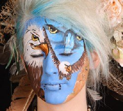 face painting convention - festival of color - Evelina Iacubino