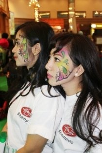 FACE PAINTING JAKARTA CONVENTION CENTRE
