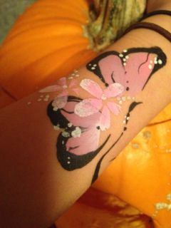 Butterfly arm (Click on smaller images to Enlarge)