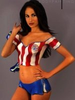 Paraguay football fan (By Vargas)