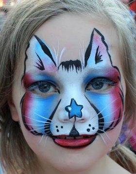 USA face painters (Transformations-By-Tina-Face- Body-Art)